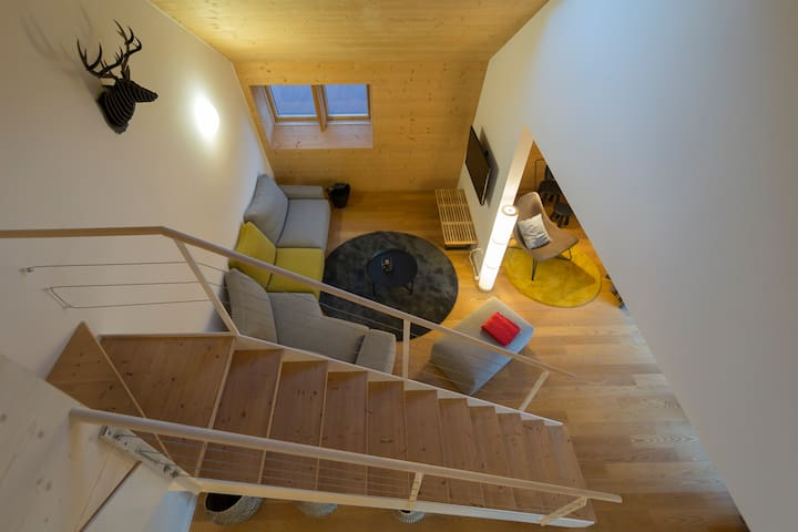 Relaxing penthouse overlooking the mountains - Ebene Reichenau - 公寓