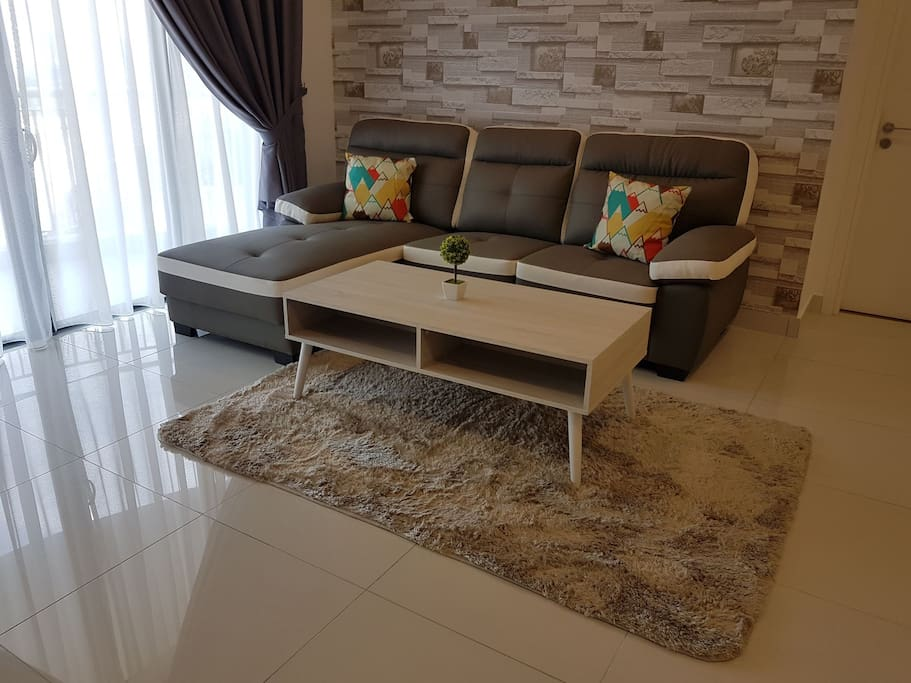 Comfortable L-shape sofa