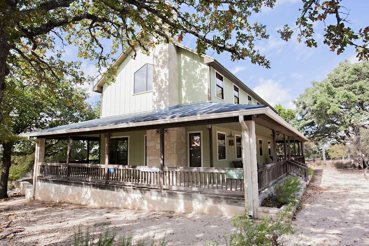 Country Ranch House-Longhorns-Firepit-Wine Tours