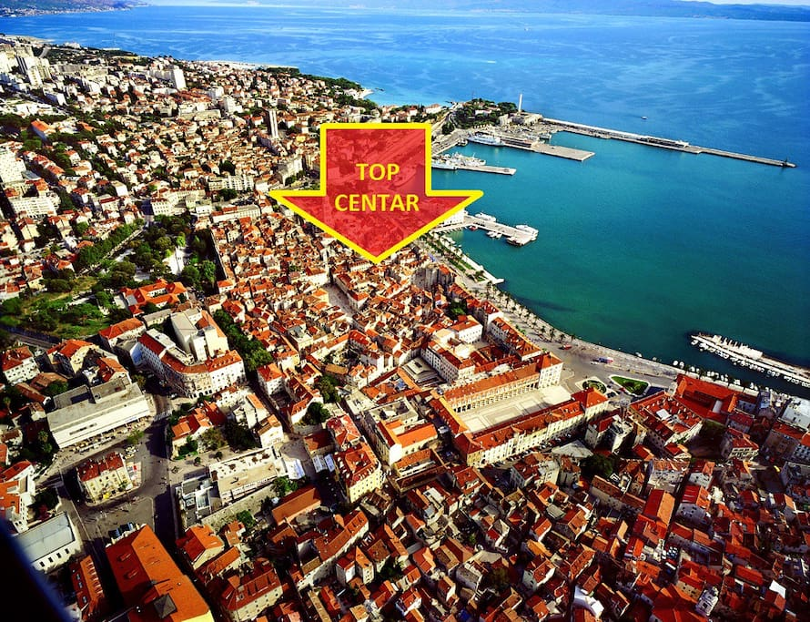 Our position in Split