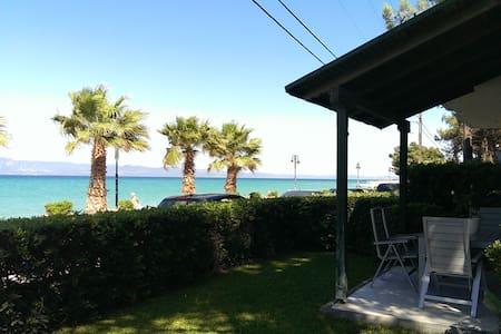 Beachfront Lux House,Villa Sofias - Pefkochori - Villa