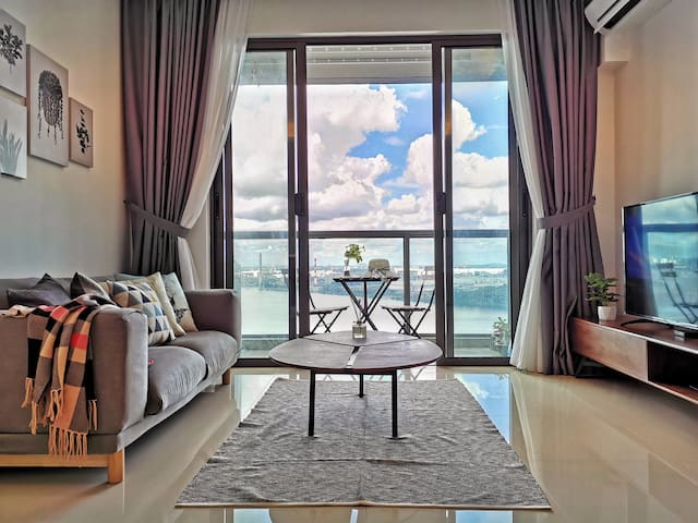 🏖Sea View Romantic Johor 1Bedroom R&F PrincessCove