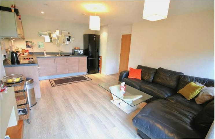 Modern 1 double bedroom hotel-style apartment - Portsmouth - Apartamento