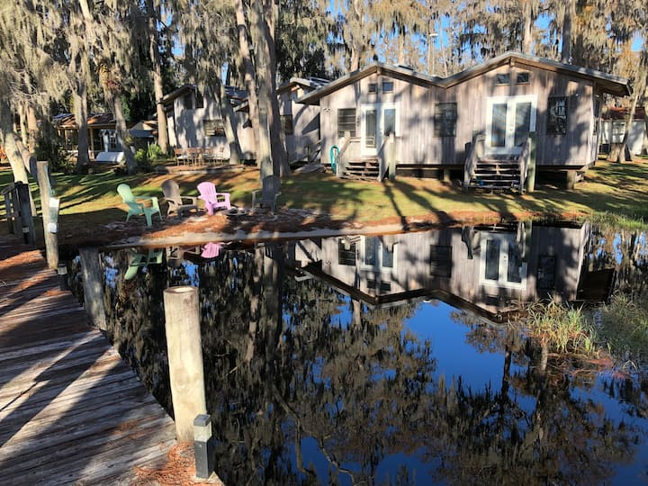 Lake Front Home with Dock on Lake Louisa