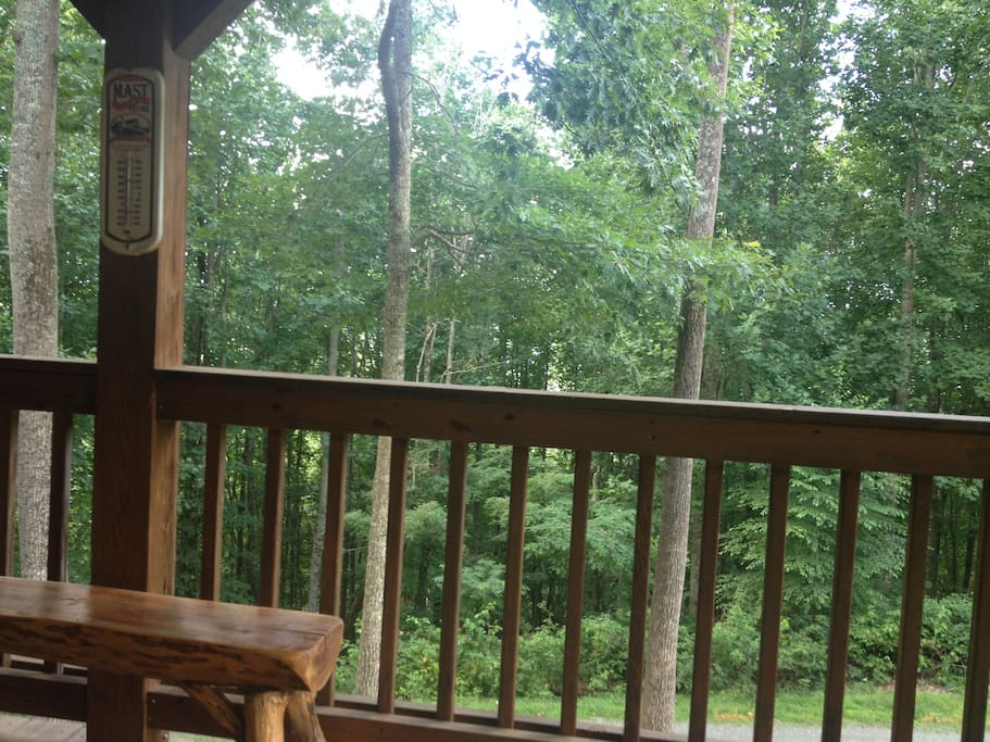 Your view from the front deck