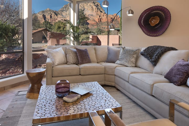 CleanStay: Pvt Hot Tub-Luxurious Upper West Sedona