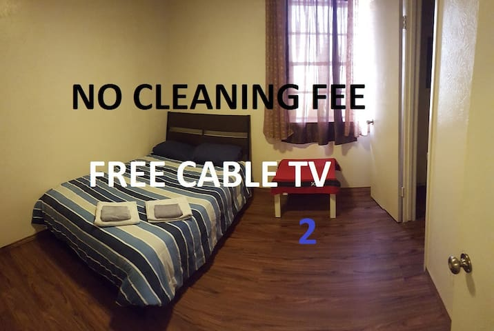 2. Private Room with TV, Central Dallas, Best Deal