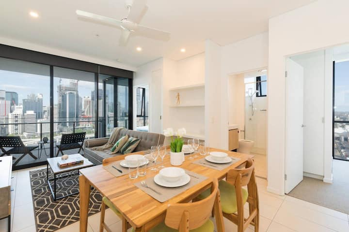 Unbeatable View, Luxury 2 Bedroom apt @ South Bank