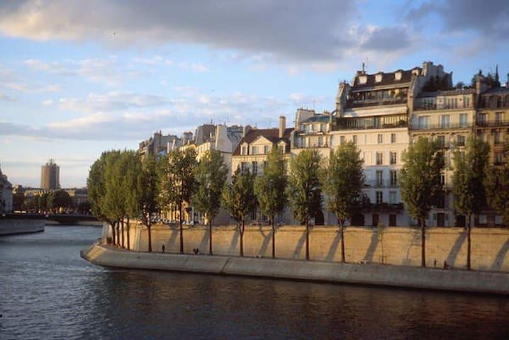 Joli studio île Saint Louis ~ Notre Dame