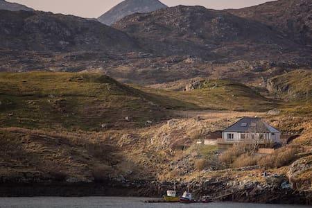 AIRD VILLA, Scalpay, on the Isle of Harris