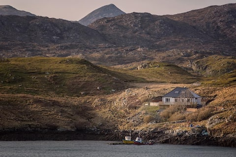AIRD VILLA, Scalpay, on the Isle of Harris