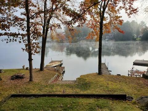 Piccola casa situata sulla bella Arlington Pond