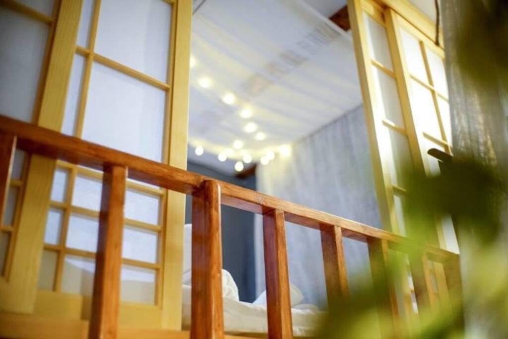 日式榻榻米阁楼,很温馨的一个空间哦