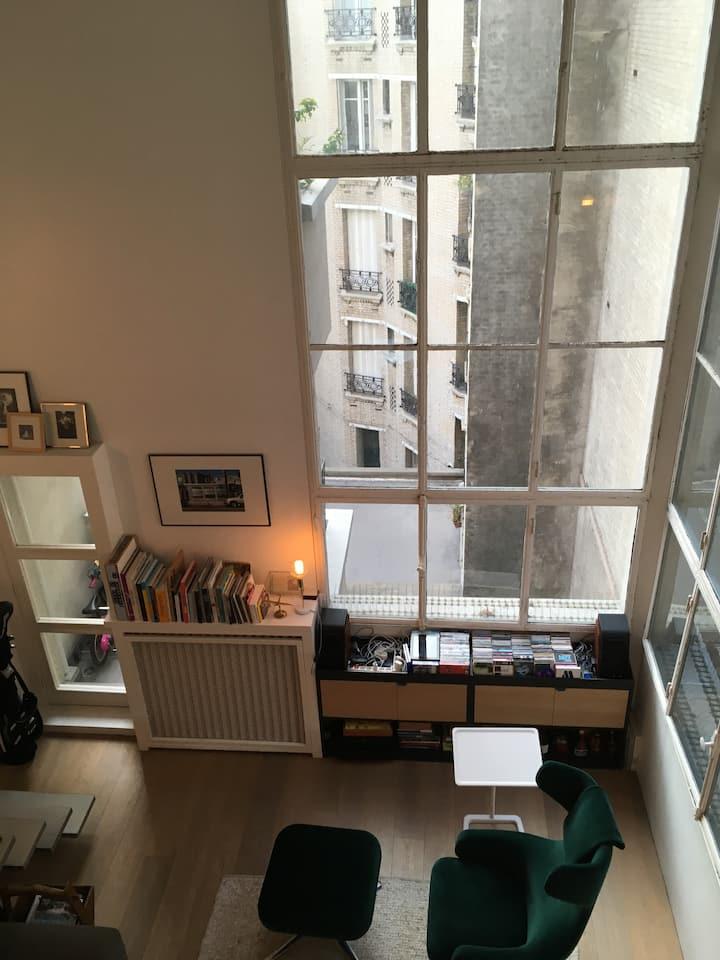 Corbusier style Loft 700Sf in perfect location