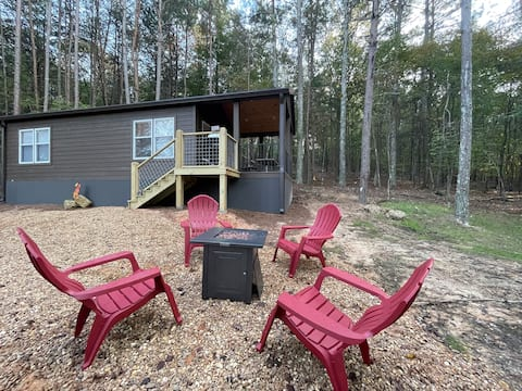 The Turtle's Nest - A Wooded Tiny Home