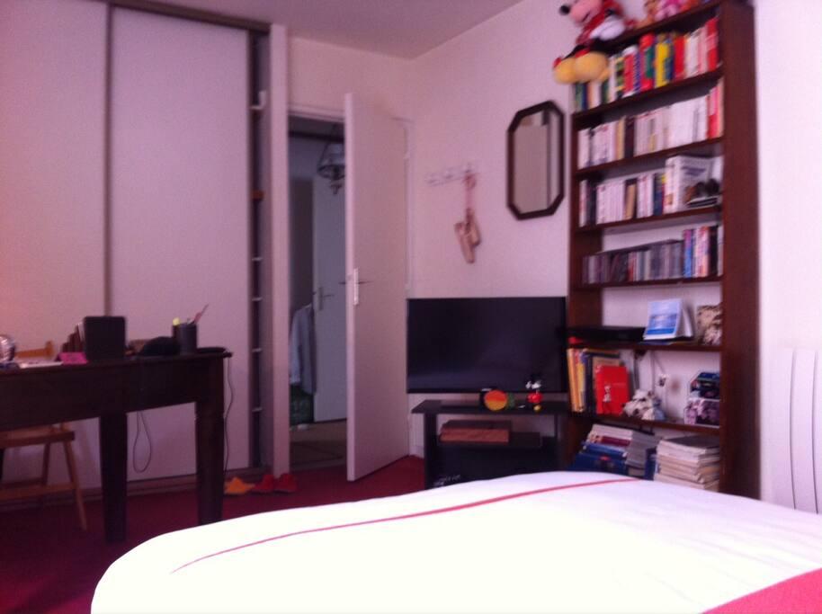 Tranquillit s r nit charme pkg s curis inclu for Appartement bordeaux 80m2