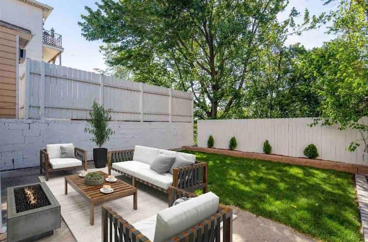 ♛ Clean Luxury Home Mins To NYC Manhattan/Backyard