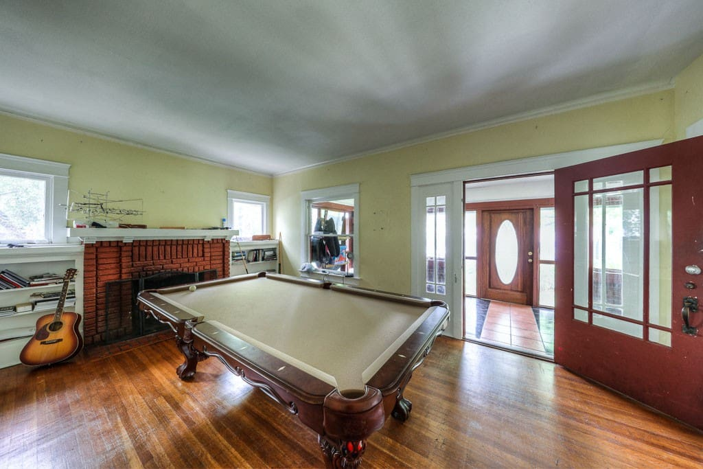 Inside Living Room looking toward front door