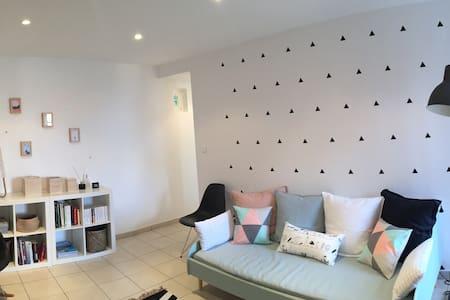 Appartement F3 entre mer et montagne - Alata - Huis