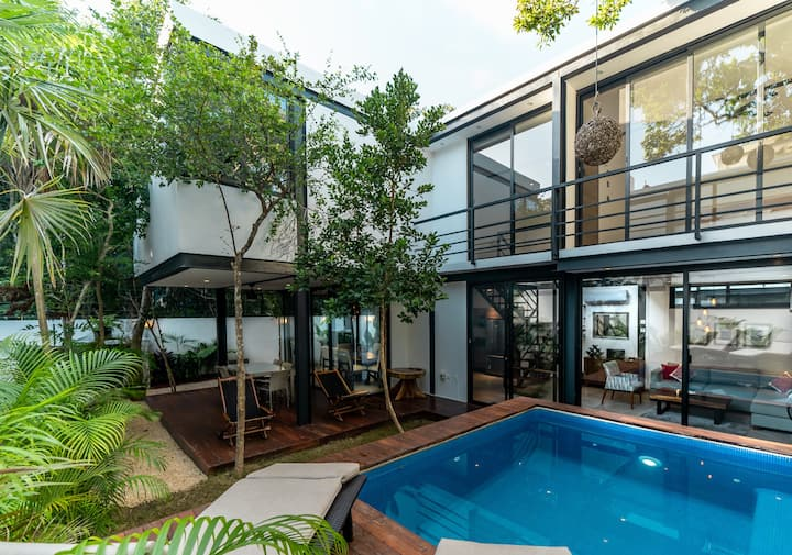 LUXURY JUNGLE HOUSE WITH CHEF & Spa - MUN TULUM