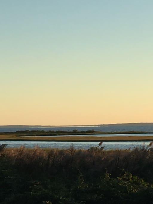 View Peconic bay, Robyn's island.