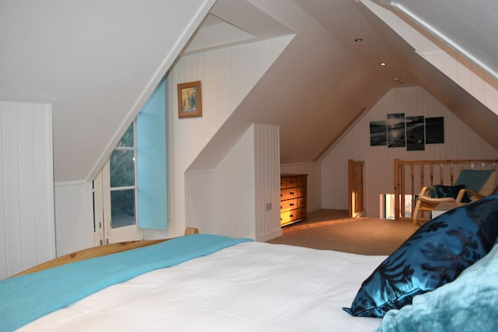 Spacious room, stunning views - Highland - House