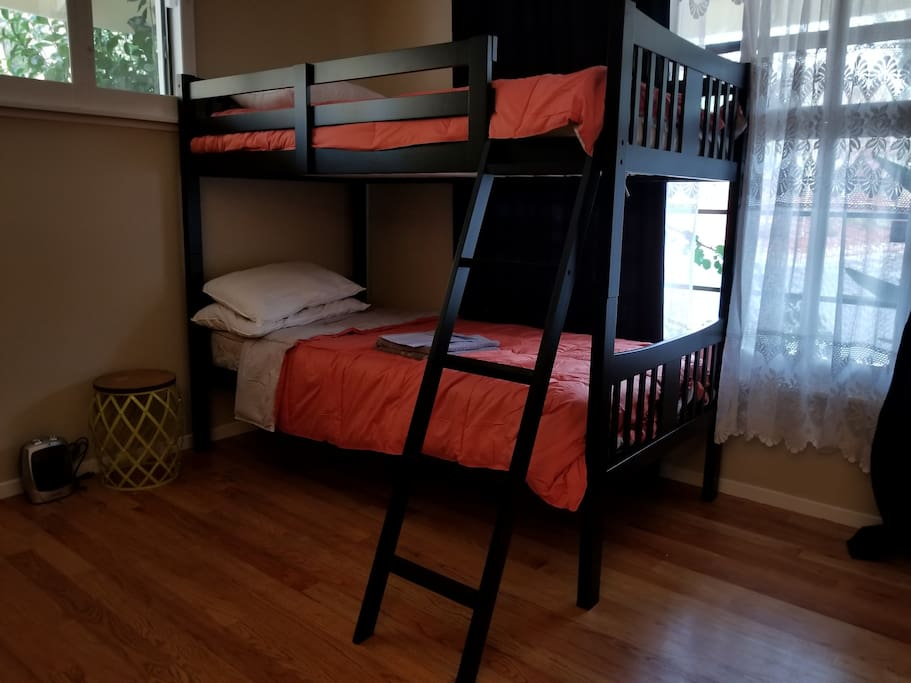 Bunk bed in this room