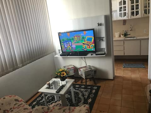 Entire Apt, Complete, Best Location in Ribeirão.