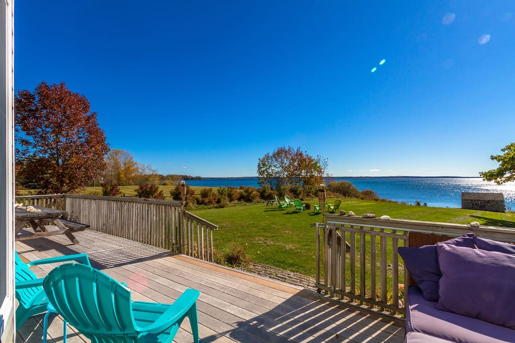 Amazing views from your spacious deck!