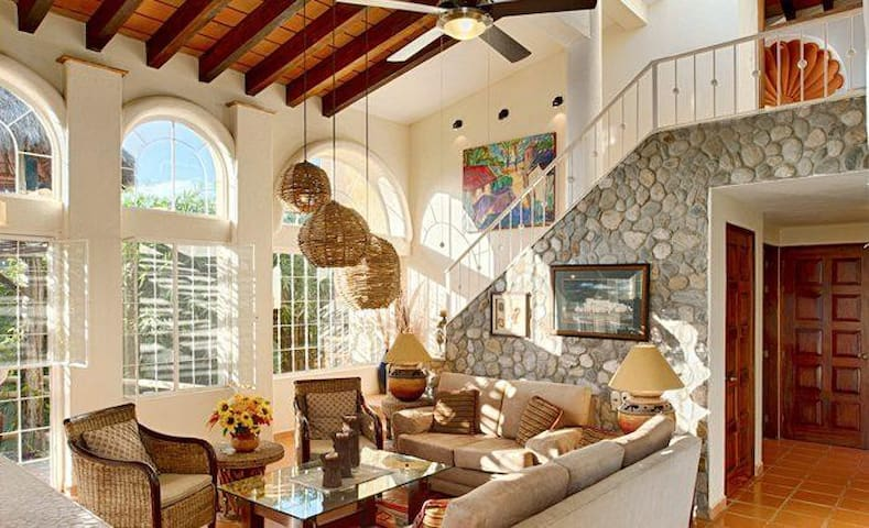 Relax and enjoy the views at Casa La Vida