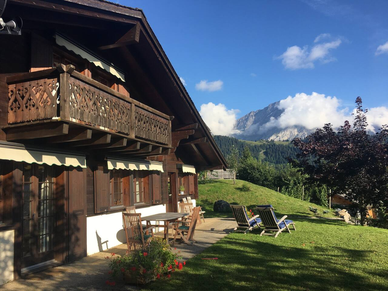 Chalet in the Summer
