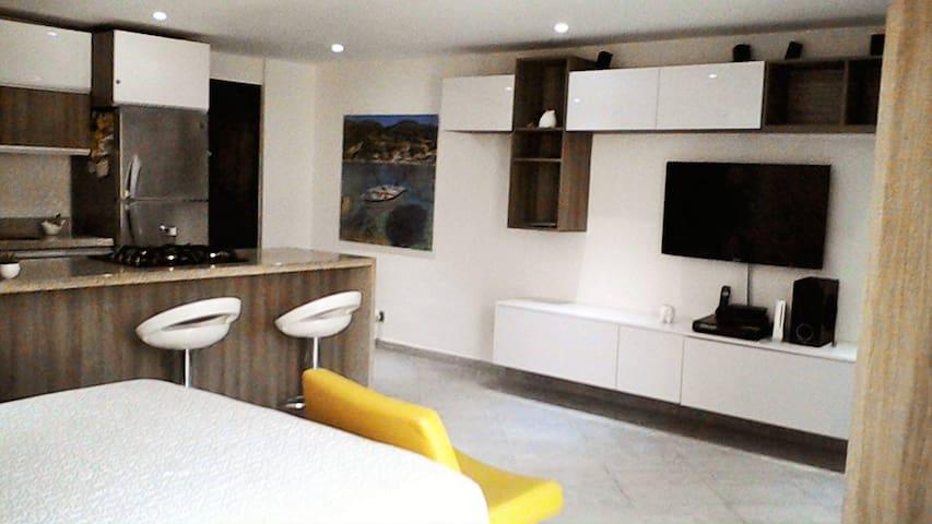 Aparta-estudio Poblado(Loft) - Medellín - Apartment