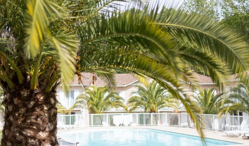 Appartement 6/8 personnes - Résidence avec piscine