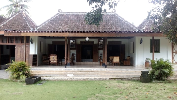 Old Traditional Javanese Home