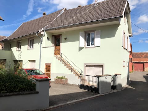 Village house in Alsace near Strasbourg