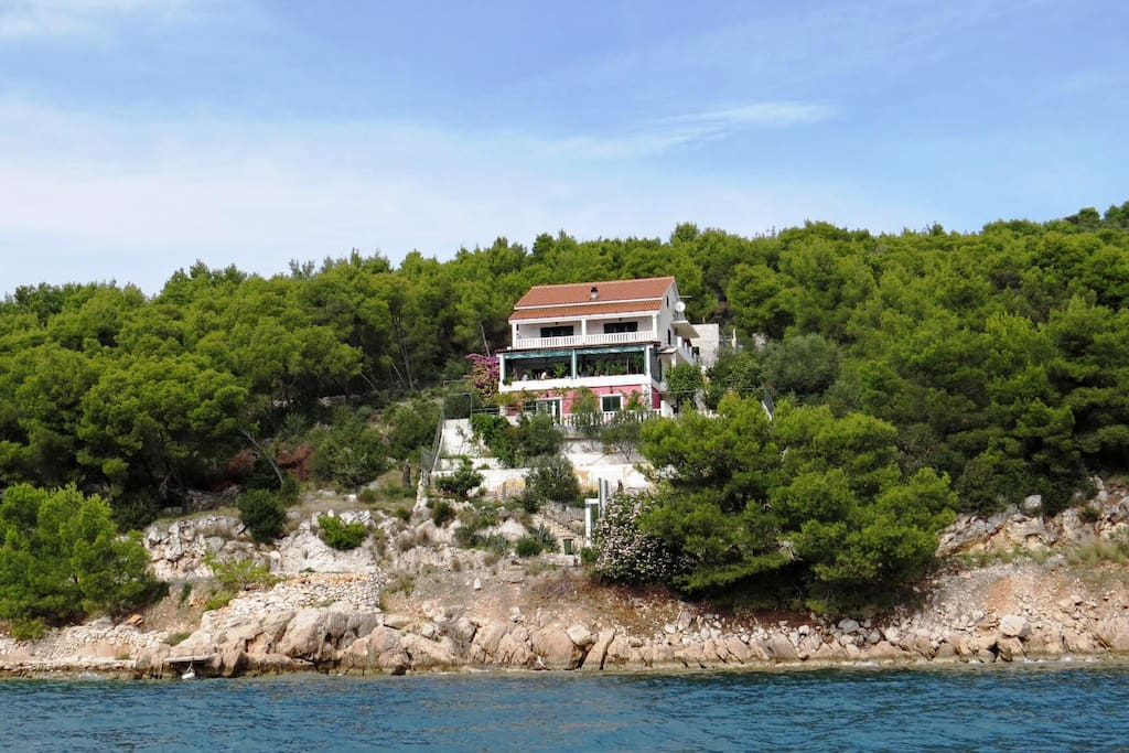 House from sea