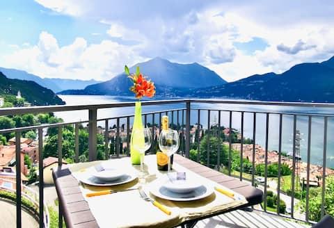 New Apart. Lake Como view 1 room wifi LAKE DREAM 2