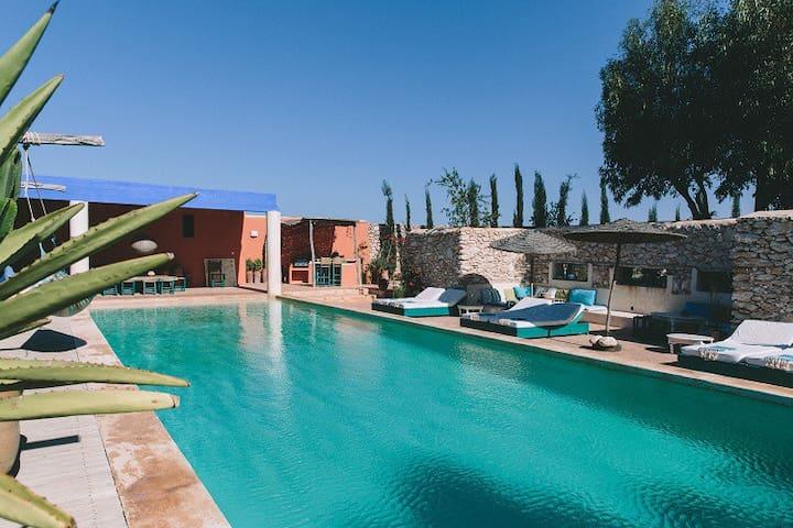 Riad Baoussala - Chambre Oasis - Essaouira