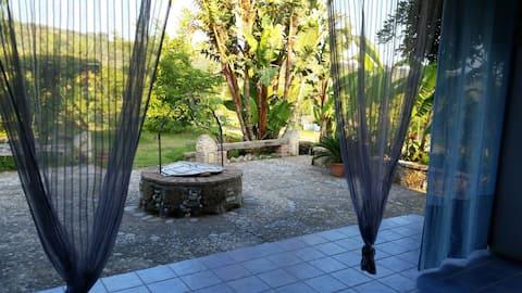In a  safe area  a lovely lfarmhouse near Milazzo