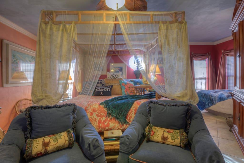 Turtle Beach Villa Master bedroom