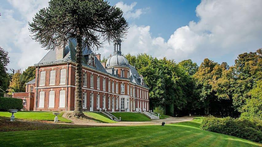 Chambre ronde chateau du landin - Le Landin - Guesthouse