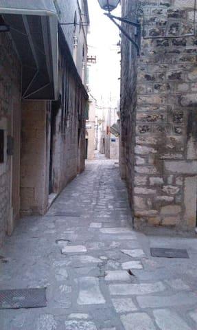 ulica u kojoj se nalazi apartman