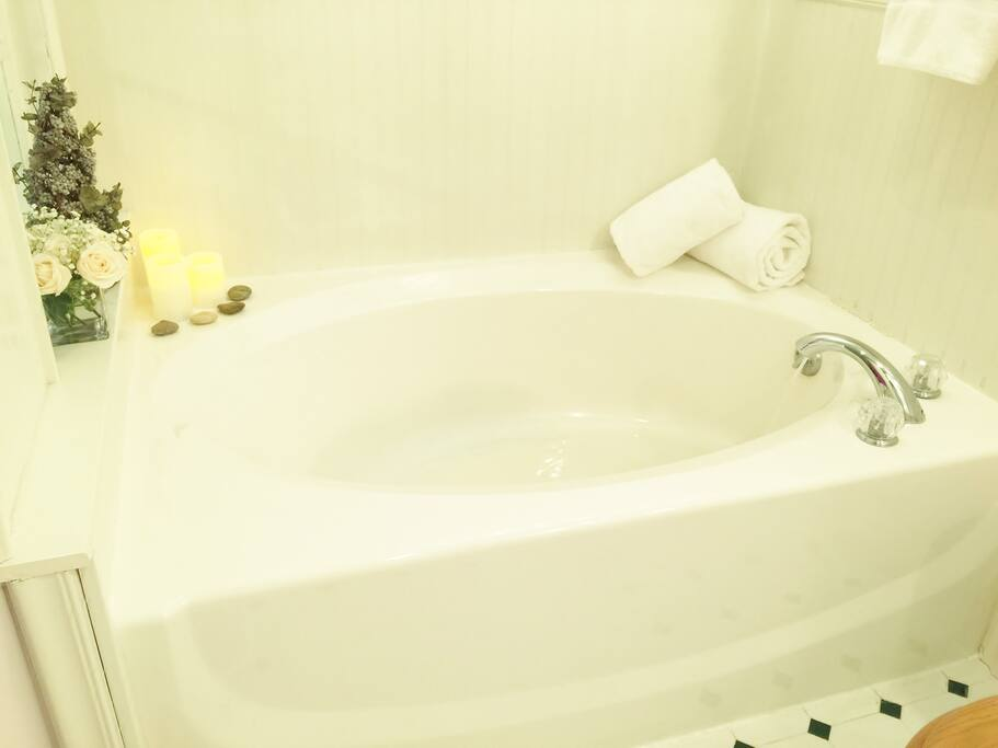 Enjoy your soaking tub