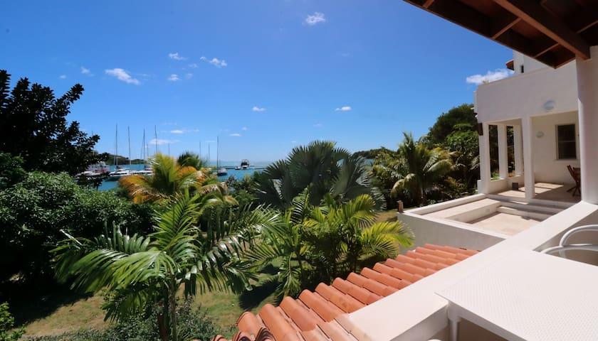 Garden studio apartment  stunning sea views