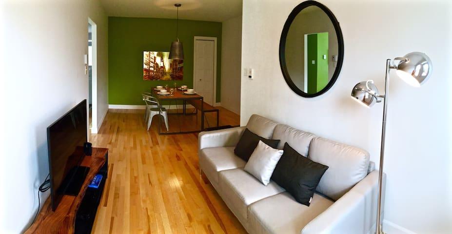 Superbe appartement au coeur du quartier Limoilou - Ville de Québec - Lejlighed