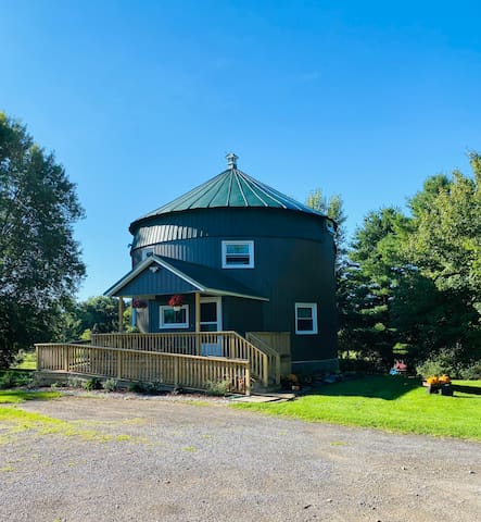 Pulaski silo home is near fishing and snowmobiling
