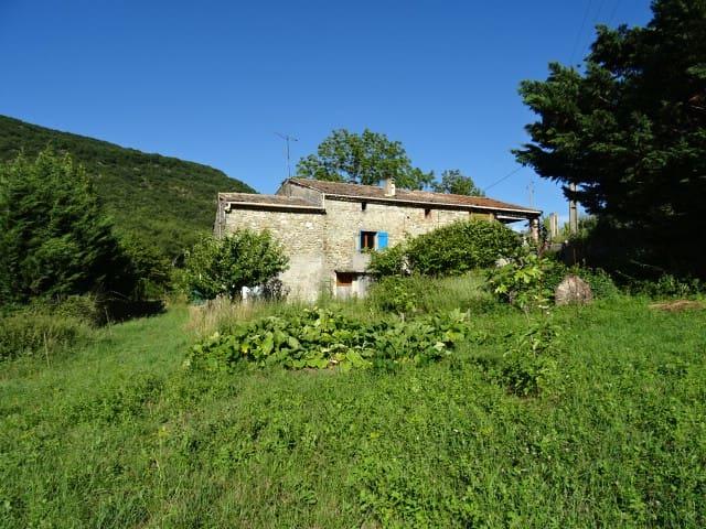 Chambre dans une maison,campagne,drôme provençale - Rochebaudin - House