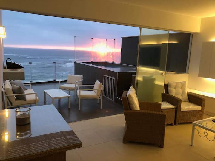 Penthouse frente al mar - Playa Señoritas