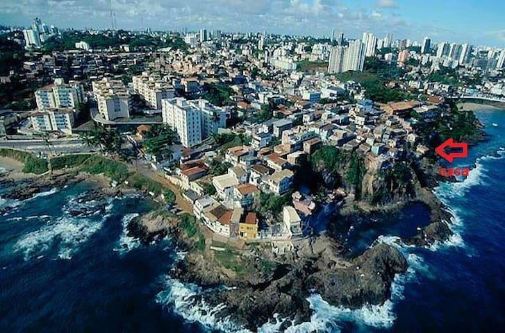 Kitnet frente mar carnaval Salvador - Salvador - Rumah