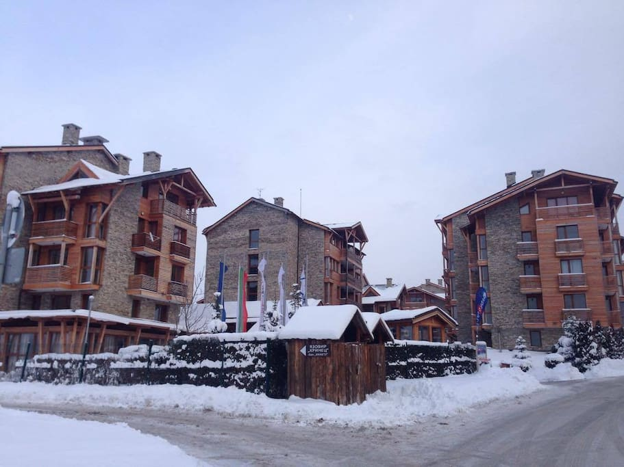 Entrance to St.Ivan Ski & Spa